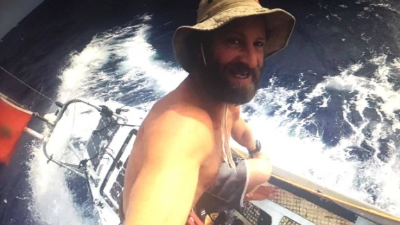 With an onboard camera and internet, Bertish has kept in contact with the outside world, and even took part in a live interview with SUP magazine.