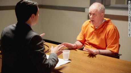 Nicholas D'Agosto, John Lithgow in 'Trial & Error'