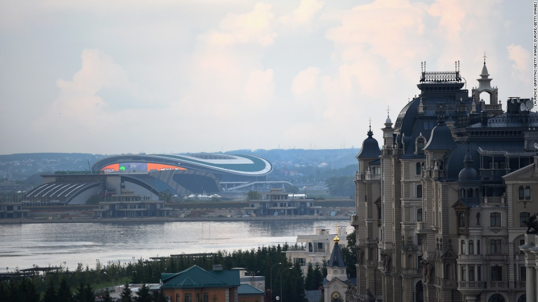 "<strong>Kazan Arena World Cup schedule: </strong>Group stage, last 16, quarterfinals<strong><br />Legacy:</strong> Opened in 2013, it will continue to be home to Rubin Kazan, Russian Premier League champions in 2008 and 2009. <a href=""http://edition.cnn.com/sport"">Visit CNN.com/sport for more news and features</a>"
