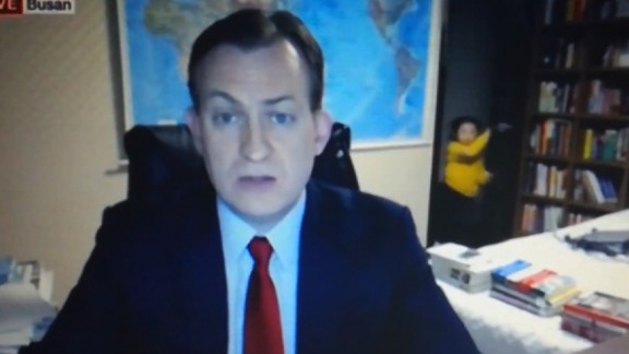 Professor Robert Kelly's BBC interview went viral after his two children found their way into his office while he was live on air.