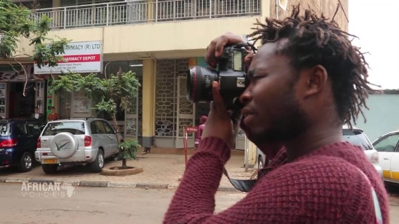 Teaching is a big part of his life and Nkinzingabo (pictured) has been teaching photography to street kids for the last two years.