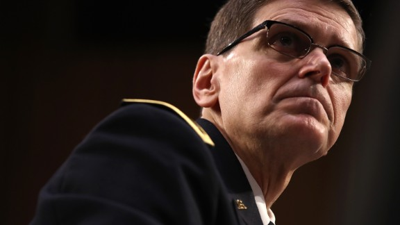 """Army Gen. Joseph Votel, commander of US Central Command, testifies before the Senate Armed Services Committee on Thursday, March 9. Votel was updating the committee on operations in Afghanistan and Syria. He also <a href=""""http://www.cnn.com/2017/03/09/politics/general-votel-seal-raid-yemen-hearing/"""" target=""""_blank"""">accepted full responsibility</a> for a controversial January raid that resulted in the death of a Navy SEAL and several civilians in Yemen."""