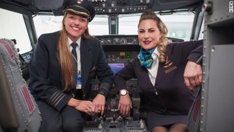Airline pilot gives life-saving kidney to flight attendant.