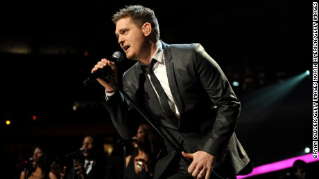 NEW YORK, NY - DECEMBER 10:  Michael Buble performs during Z100's Jingle Ball 2010 at Madison Square Garden on December 10, 2010 in New York City.  (Photo by Bryan Bedder/Getty Images)