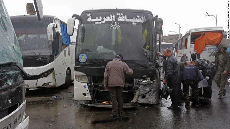 Dozens dead in Damascus bombings