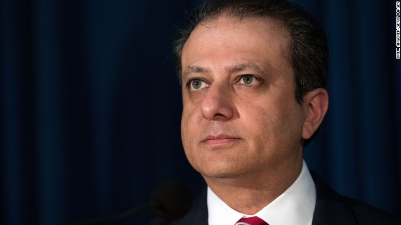 Bharara: I did not resign -- I was fired