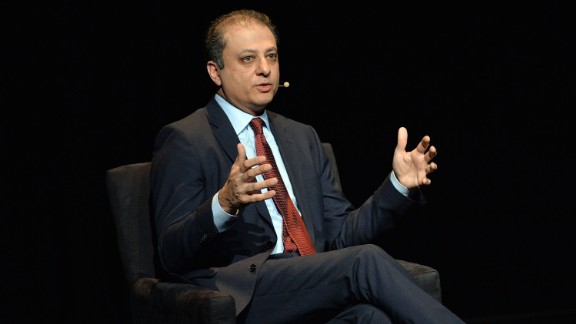 "Preet Bharara, United States Attorney, Southern District of New York attends the 2016 ""Tina Brown Live Media's American Justice Summit"" at Gerald W. Lynch Theatre on January 29, 2016 in New York City."