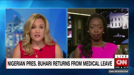 Nigeria's Buhari returned from an  overseas medical treatment last year