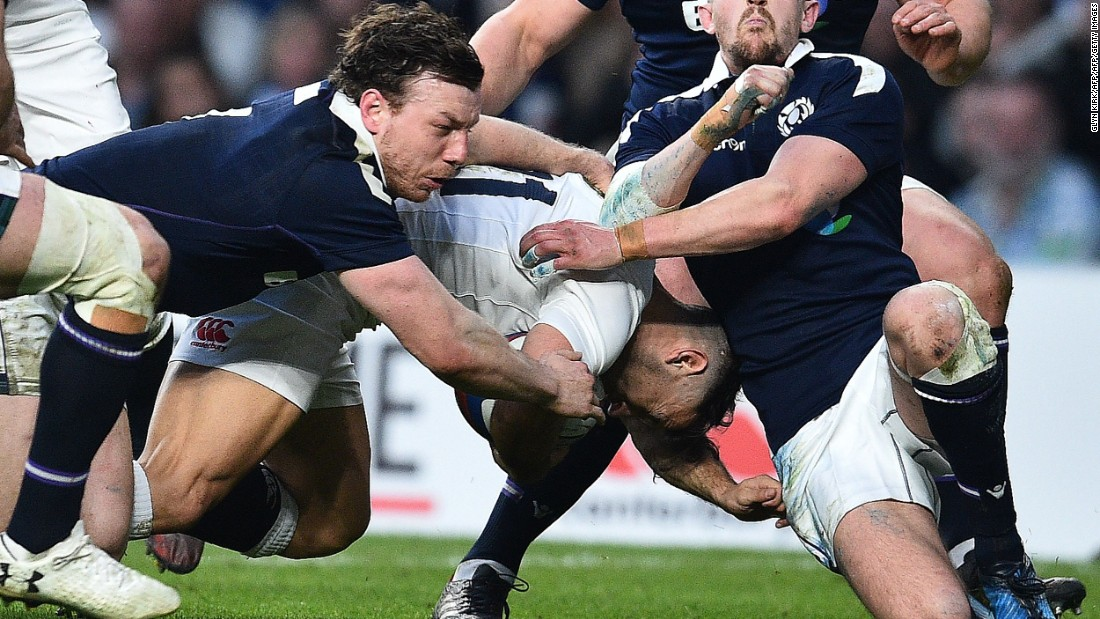 0b79c8d6774 But there was no stopping England. Danny Care added two late tries as  England won. Photos: England comfortably beat Scotland to equal New  Zealand's record ...