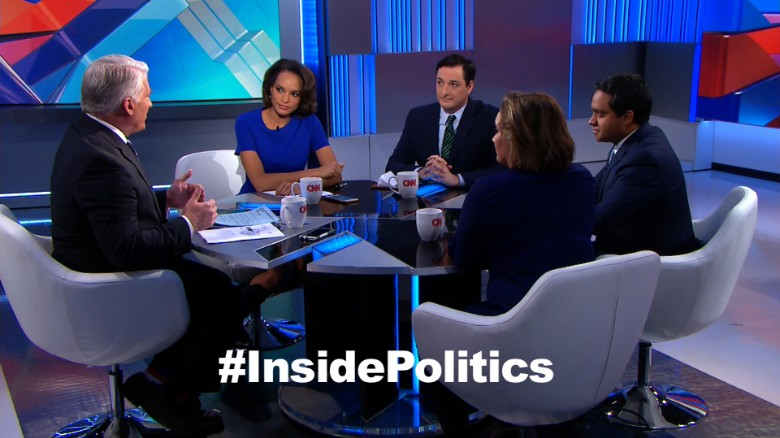 'Inside Politics' forecast: Test for Trump
