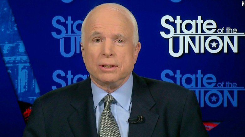 McCain: Provide wiretap evidence or retract