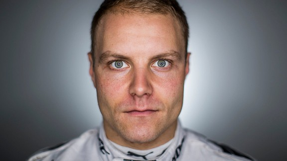 MONTMELO, SPAIN - MARCH 09:  (EDITORS NOTE: Image was altered with digital filters.)  Valtteri Bottas of Finland and Mercedes GP poses for a portrait during day three of Formula One winter testing at Circuit de Catalunya on March 9, 2017 in Montmelo, Spain.  (Photo by Mark Thompson/Getty Images)