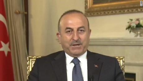Turkish foreign minister addresses controversy