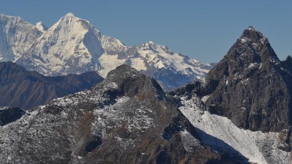 Bhutan stretches across the Himalayas,