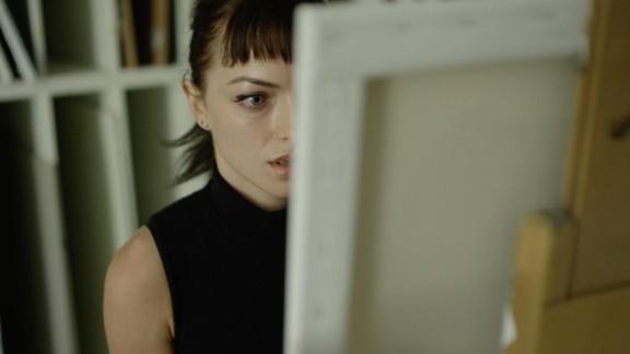 "Francesca Eastwood stars in ""M.F.A."""