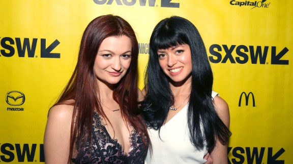 """""""M.F.A."""" actor/writer Leah McKendrick with director Natalia Leite"""