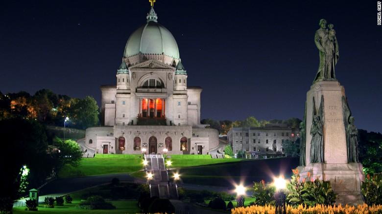 St. Joseph's Oratory in Montreal.