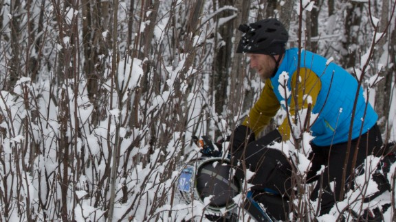 About 10% of the racers don't finish, usually voluntarily. For some, it's about the race conditions, others get hurt or are feeling ill. Some just find it too demanding, either because they didn't train properly or didn't have the right gear.