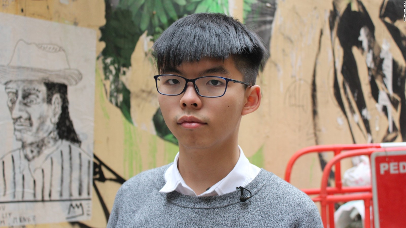 Image result for joshua wong