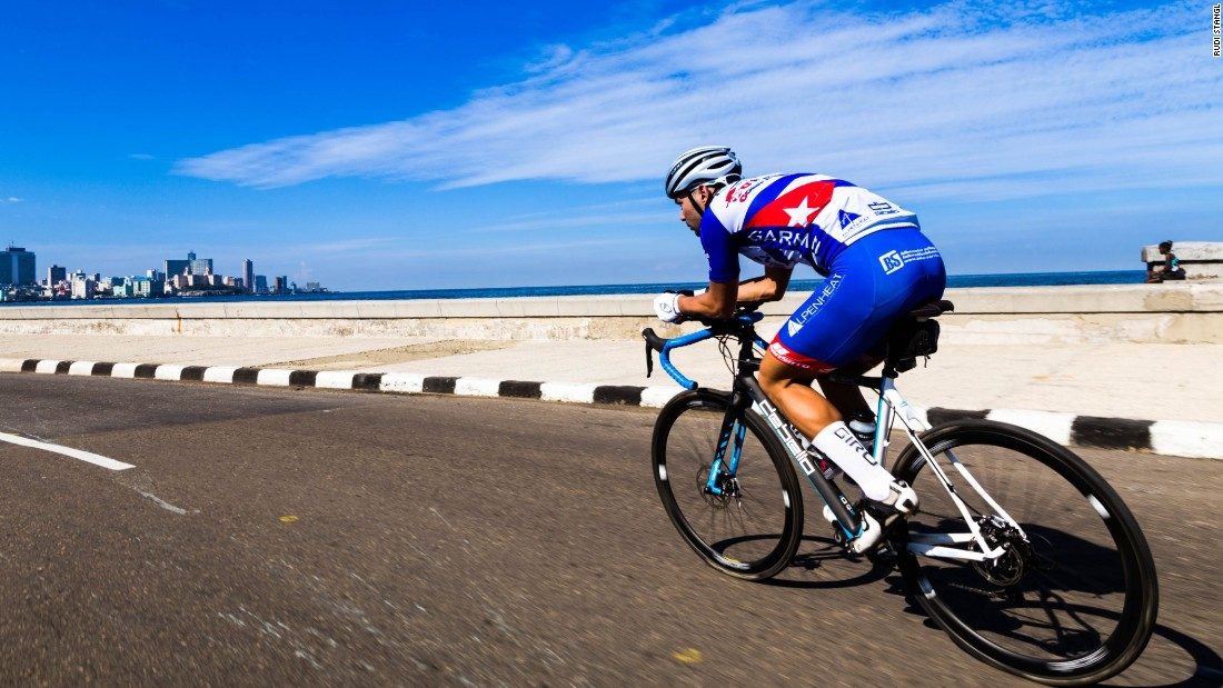 Austrian ultra cyclist Jacob Zurl is planning to see Cuba like no person has ever seen before ...