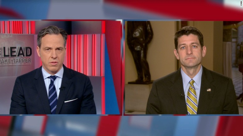 Paul Ryan's full interview with Jake Tapper