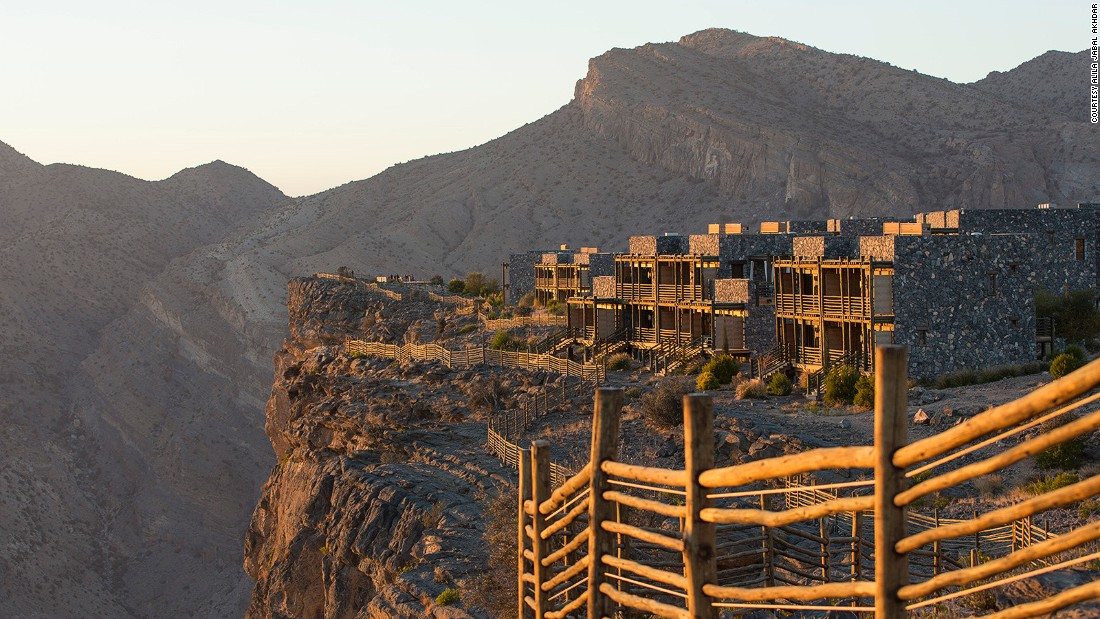 The hotel on the rooftop of Arabia