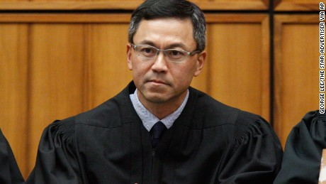 US District Judge Derrick Watson in Honolulu. | George Lee/The Star-Advertiser via AP