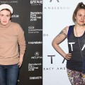 lena dunham transformation RESTRICTED
