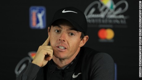 McIlroy addressed the issue at his Bay Hill press conference.