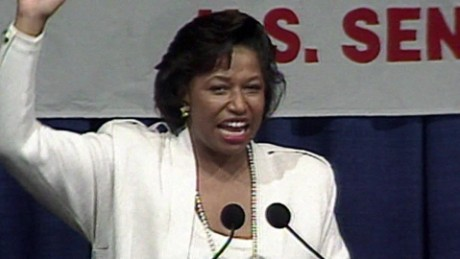 Carol Moseley Braun's victory speech