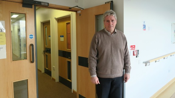 Neurosurgeon Richard Kerr faces the challenge of bed shortages in his hospital in Oxford most weeks.