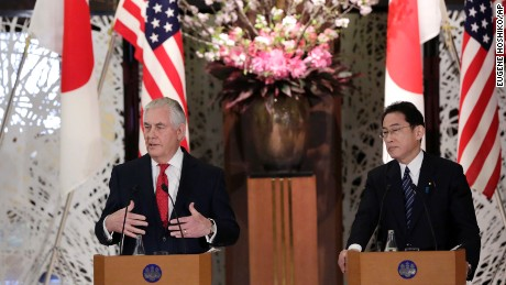 Tillerson to warn China of sanctions