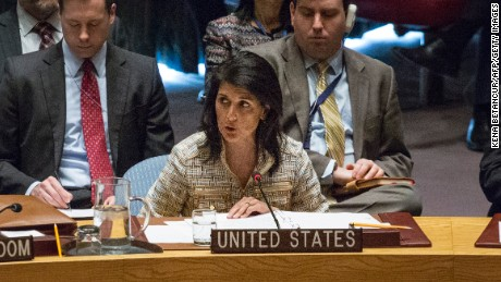 Haley thinks 'regime change' coming to Syria