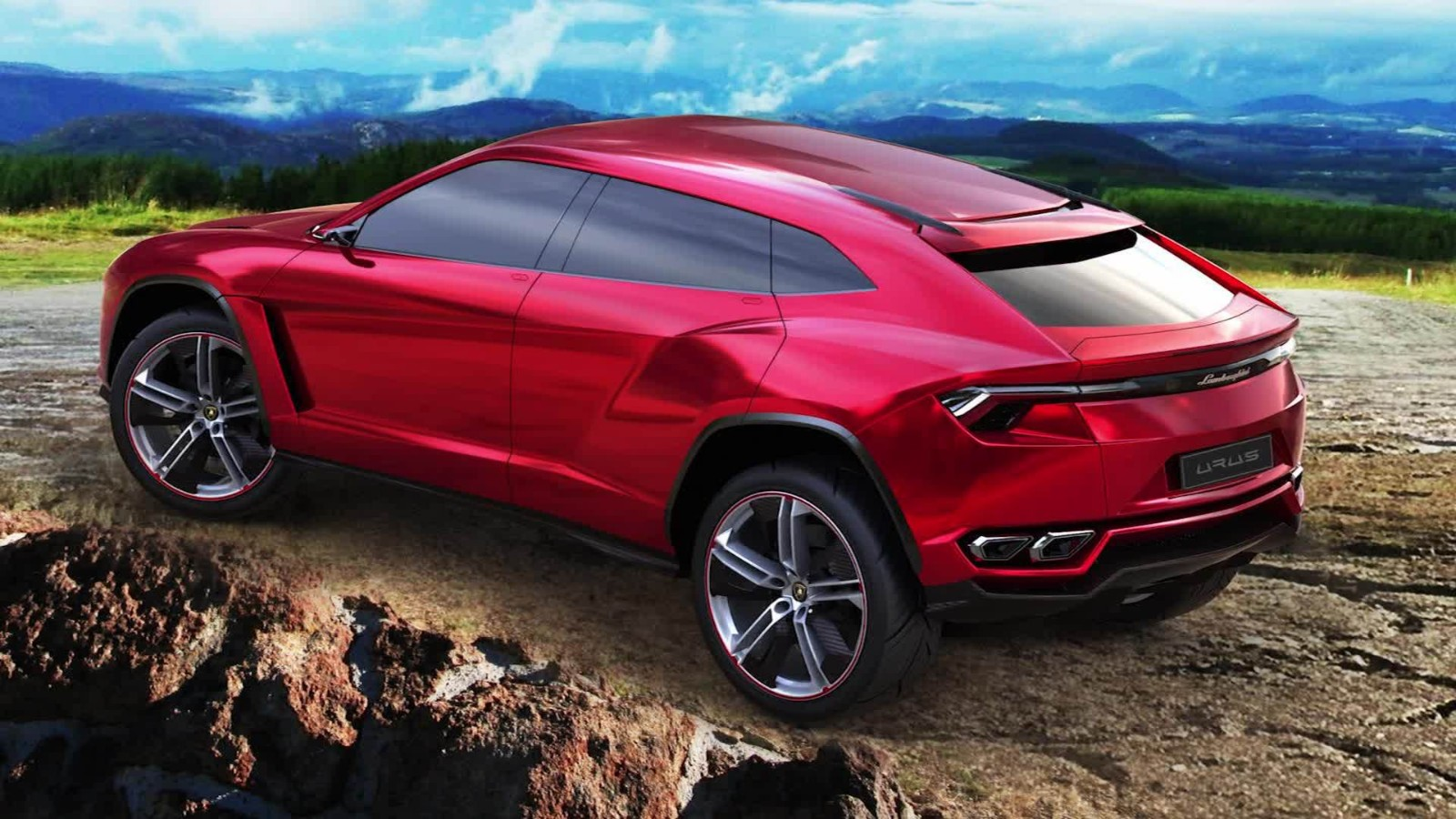 Lamborghini heads off-road - CNN Video