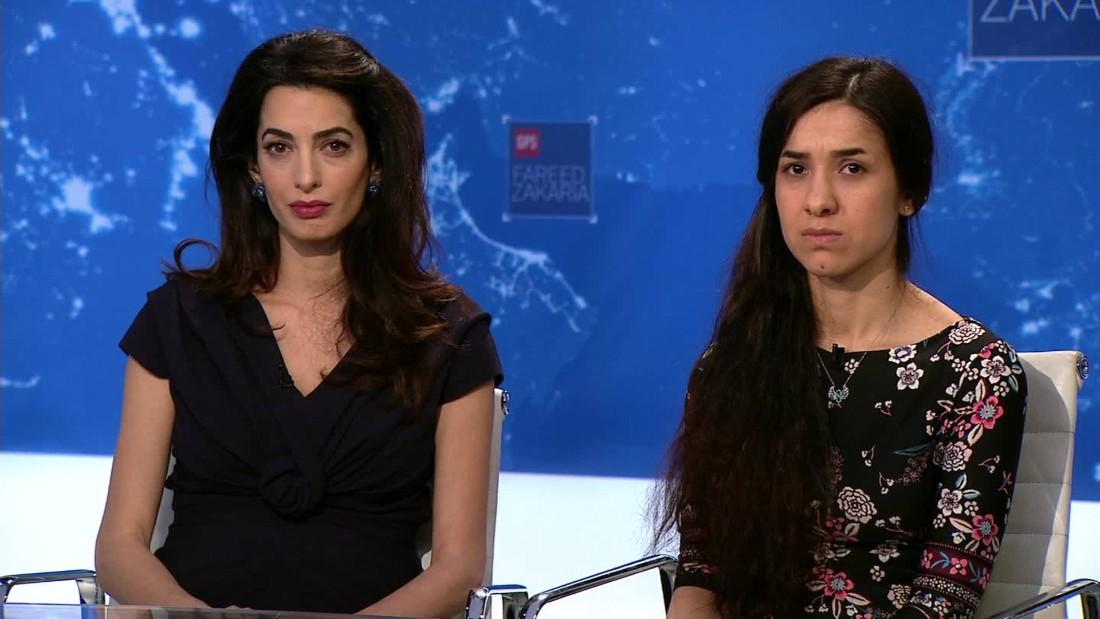 Former ISIS sex slave demands justice for Yazidis