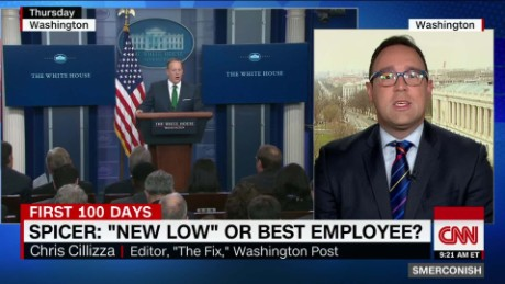 Spicer: Worst week or best employee? _00021522