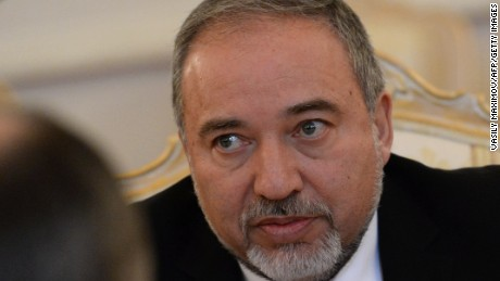 Israeli Foreign Minister Avigdor Liberman looks on during a meeting with his Russian counterpart in Moscow on January 26, 2015. AFP PHOTO / VASILY MAXIMOV        (Photo credit should read VASILY MAXIMOV/AFP/Getty Images)