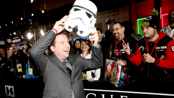 """""""Rogue One"""" director Gareth Edwards spoke with CNN about the creation of the """"Star Wars"""" film."""