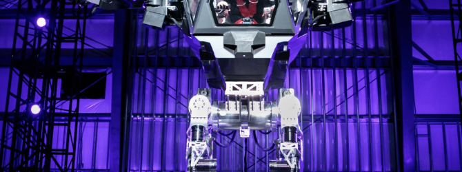 See Jeff Bezos Test The Giant Robot Of Your Nightmares Amazon S Ceo