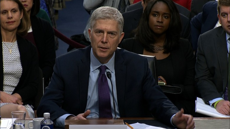 Gorsuch: Trump didn't ask to repeal Roe v Wade