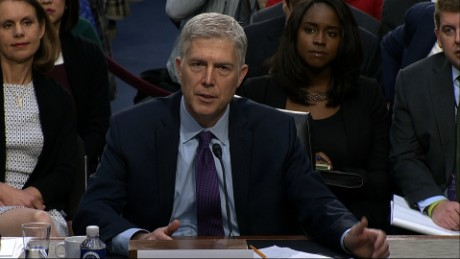 Neil Gorsuch confirmation hearing 1