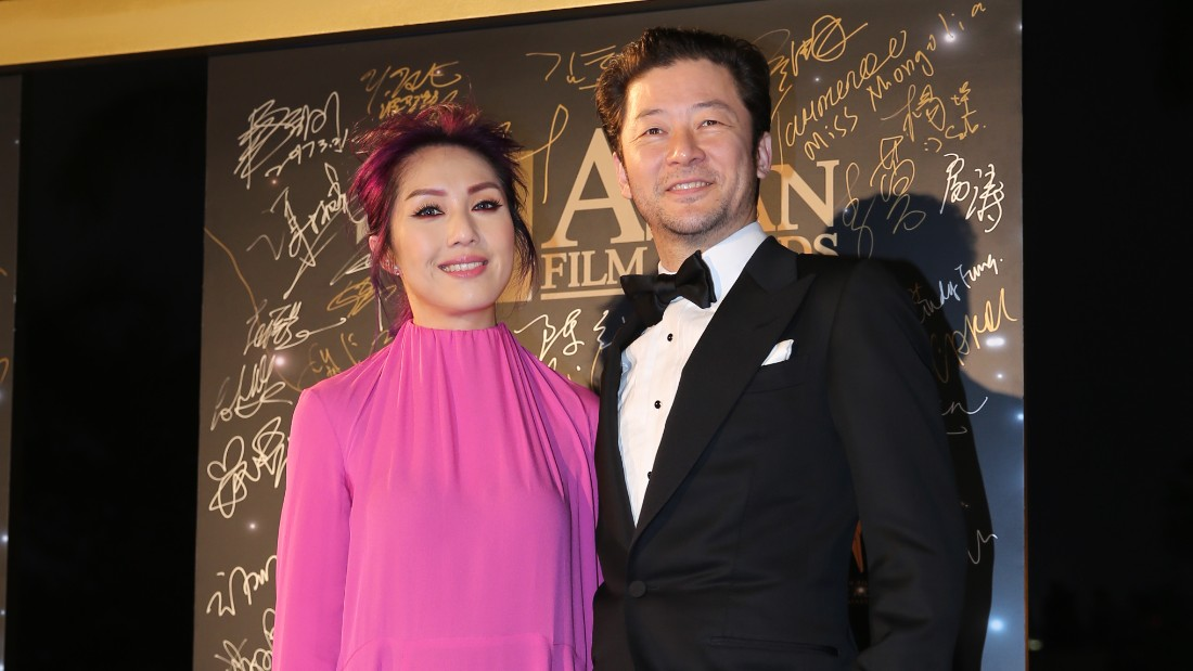 Hong Kong actress Miriam Yeung and Japanese actor Asano Tadanobu