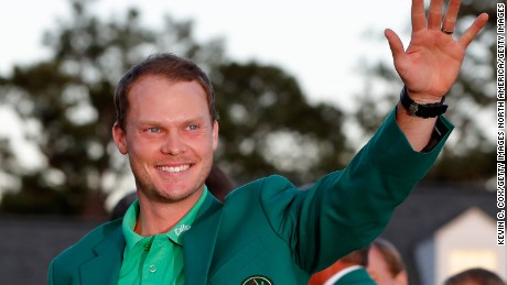 Danny Willett Masters champion
