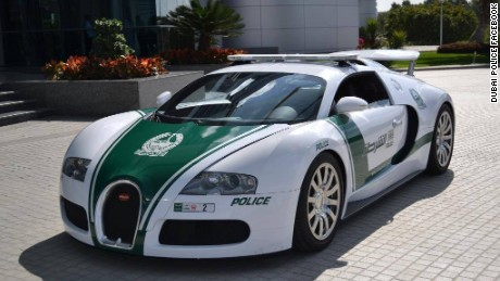 It's official: Dubai has world's fastest police car -- and it can go 253 mph