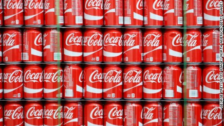 SALT LAKE CITY, UT - FEBRUARY 10: Pallets of Coke-Cola cans wait to the filled at a Coco-Cola bottling plant on February 10, 2017 in Salt Lake City, Utah. Current Coke president James Quincey will become CEO on May 1. (Photo by George Frey/Getty Images)