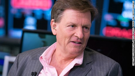 "POWER LUNCH -- Pictured: Michael Lewis, bestselling author of ""Moneyball"" and ""Flash Boys,""  in an interview at the NYSE on March 23, 2015 -- (Photo by: Adam Jeffery/CNBC/NBCU Photo Bank via Getty Images)"
