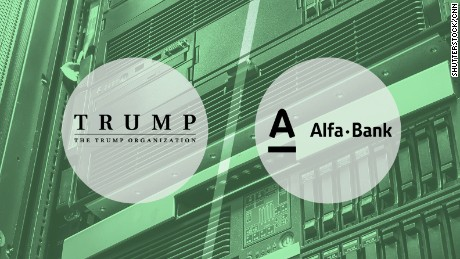 alfa bank trump organization green