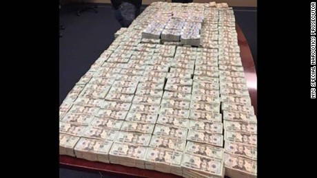 Over $4.1 million in cash was seized from a storage unit in the Bronx and a U-Haul truck.