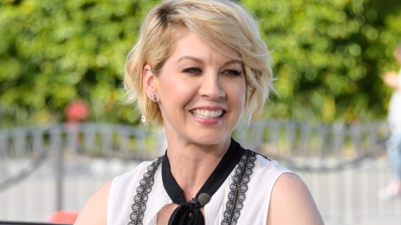 """Actress Jenna Elfman is best known for her starring role in the TV sitcom """"Dharma and Greg."""""""