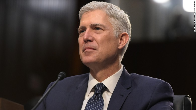 Gorsuch: 'I don't speak for Justice Scalia'